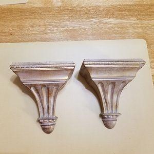 Decorative Shelves, set of 2